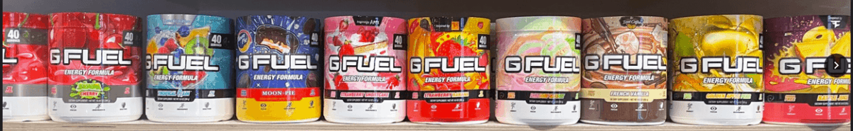 Different flavor of G Fuel