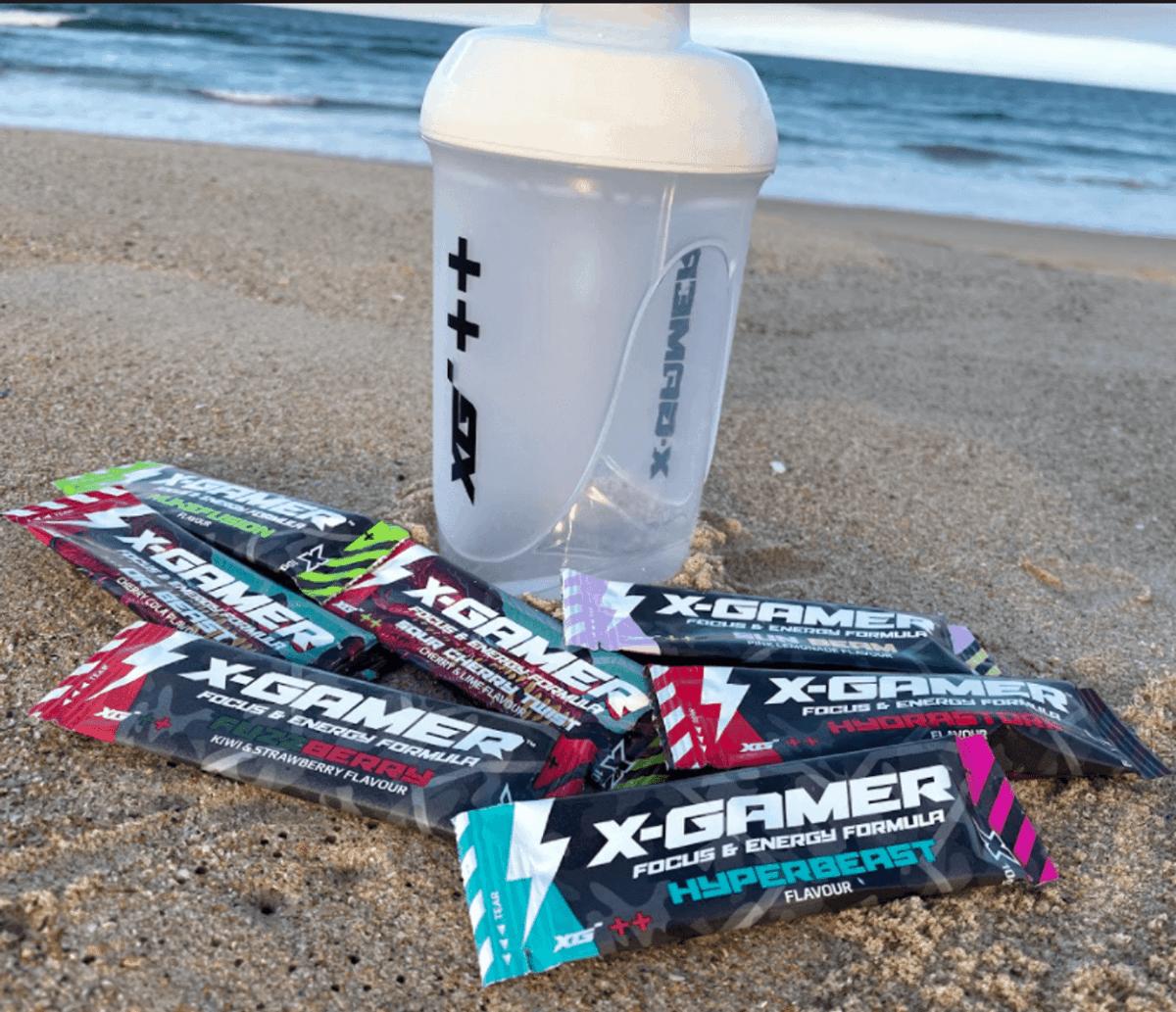 X Gamer energy drinks sachets