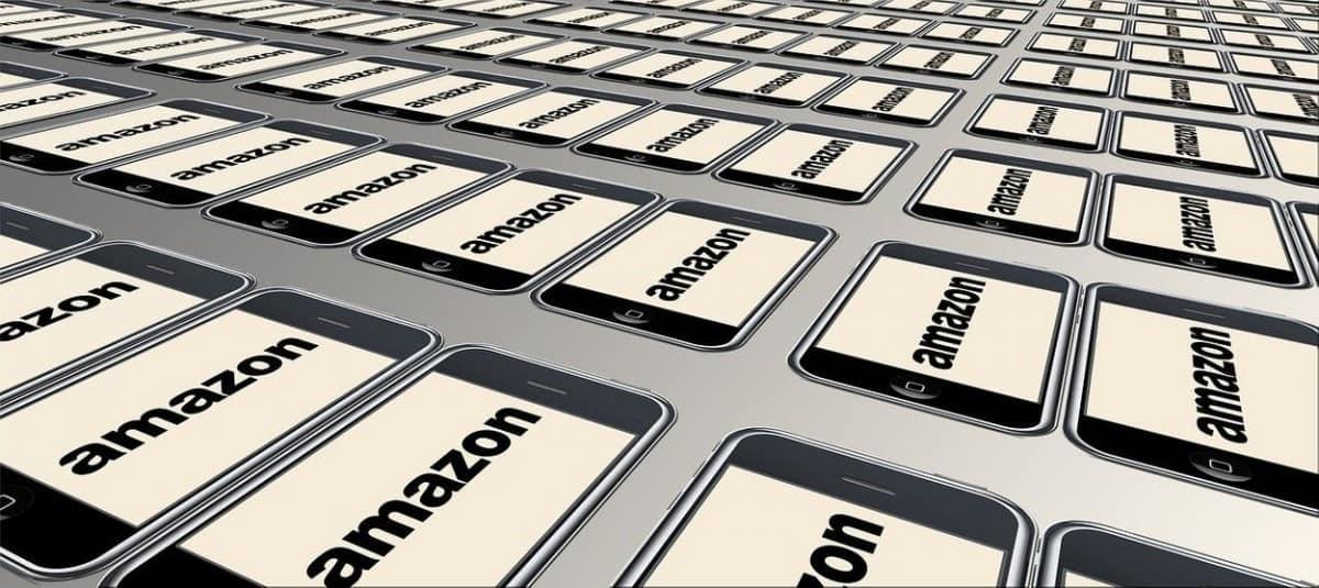 Amazon online shop.